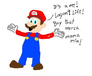Mario is Logan 4 life, Boo jake paulers