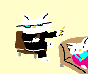 Hello Kitty as a therapist
