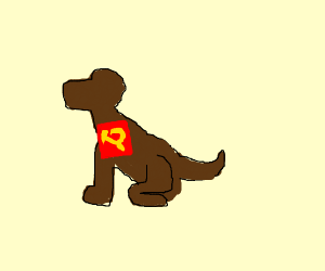 Communist dog