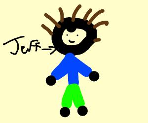 Guy named jeff