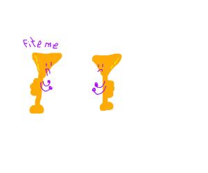 Trumpet duel