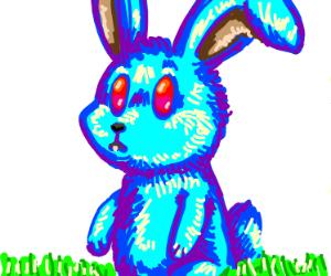 Red Eyed Blue Rabbit