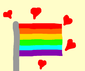 Loving gay pride