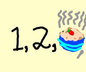 1, 2 Oatmeal