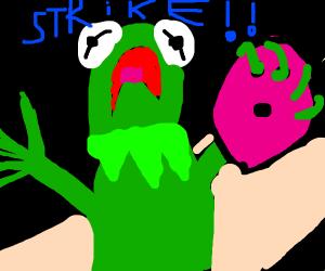kermit goes bowling