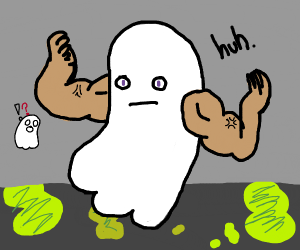 Ghost grows arms