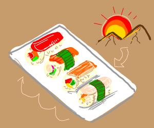 Sushi Sunset