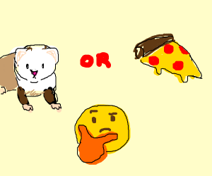 Ferret or Pizza?