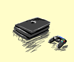 A PlayStation 4