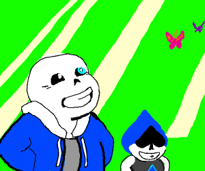Sans is Lancer's true dad