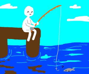 fishing without bait