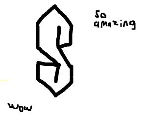 The amazing S
