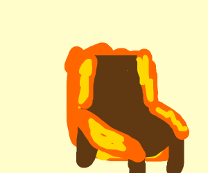 Chair in a Fire