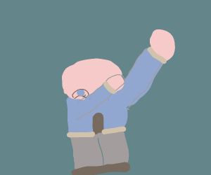 Sans is having a DAB time