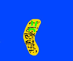 Sad peanut