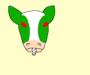 420 BLAZE IT COW
