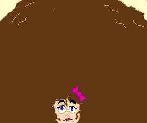 Girl needs a haircut