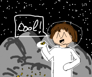 Fries in a meteorite