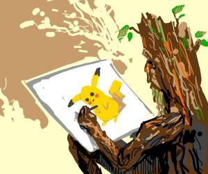 Tree draw pokemon only