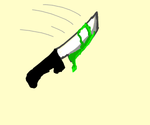 Balisong(Butterfly Knife) - Drawception