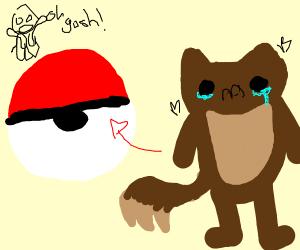 Oh no! Eevee got captured.