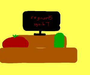 Tomato and Pickle binge Stranger Things