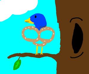 Pretzel bird