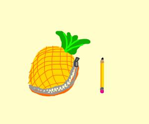 Ananas pencil case