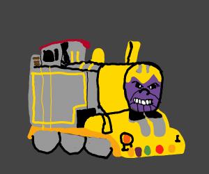Choo Choo it's Thanos, biii -