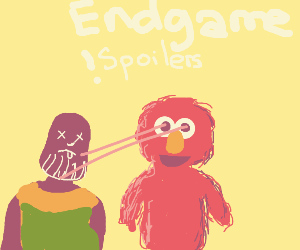endgame spoiler (with elmo)