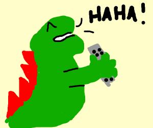 Godzilla Laughing
