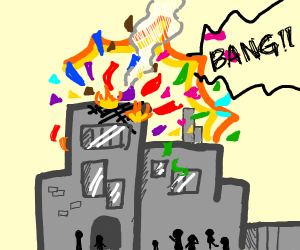 An explosion at the confetti factory