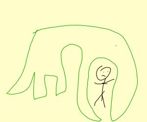 Dino Eats Guy
