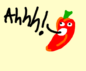 Red Pepper Screaming