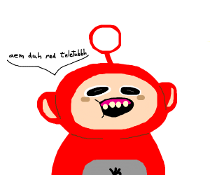 Red teletubbh