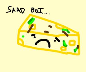 ruined sad cheeseburger