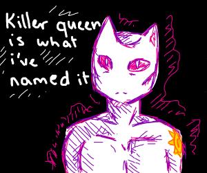 Killer Queen from Jojo's Bizarre Adventure