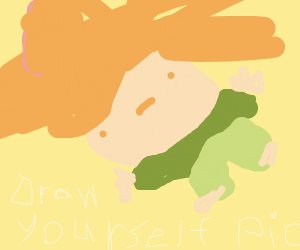 Draw yourself!!! Pass it on!