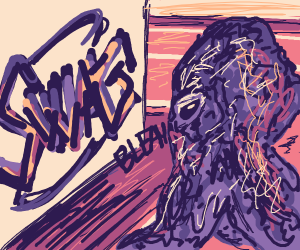 octopus hates graffiti