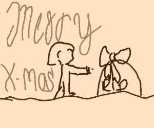 Christmas but it's Loss