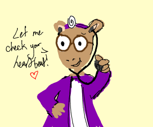 Purple doctor Arthur