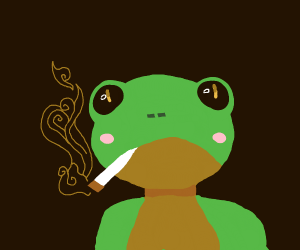 smokey frog