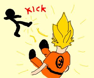 Anime Nick cage dragon ball