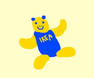Ikea Panda (Kramig)