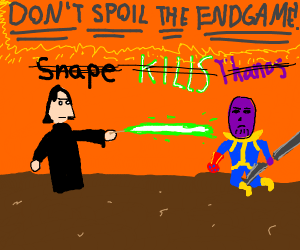 Don't spoil the Endgame