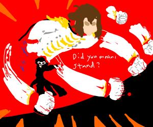 Akechi as Joker's Echo Fighter