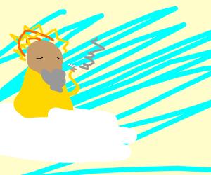 a god get high
