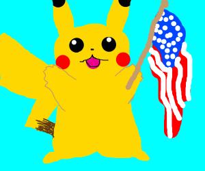 Merica Pikachu