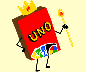 UNO is king of the card games