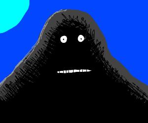 A weird anime character